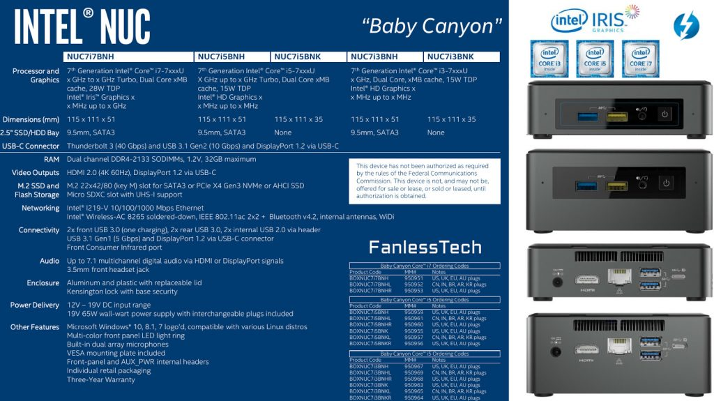 Next-Generation Intel NUCs 2