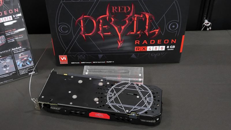 Powercolor's RX 480 Devil