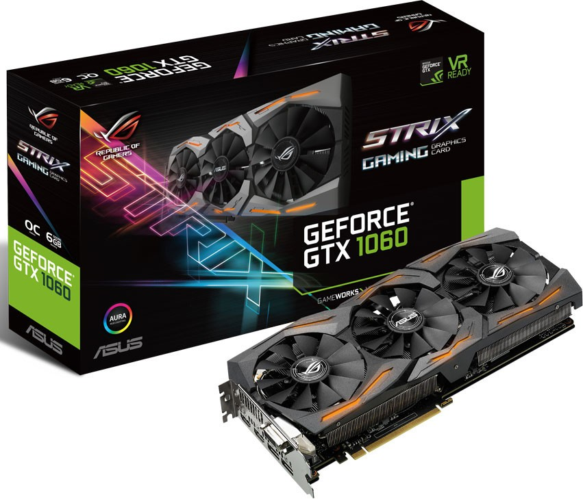 ROG Strix GeForce GTX 1060 2