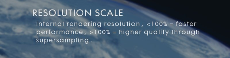Battlefield 1's Resolution Scale Option