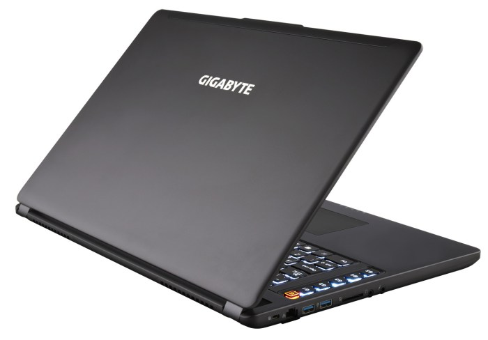 GIGABYTE gaming laptops 1