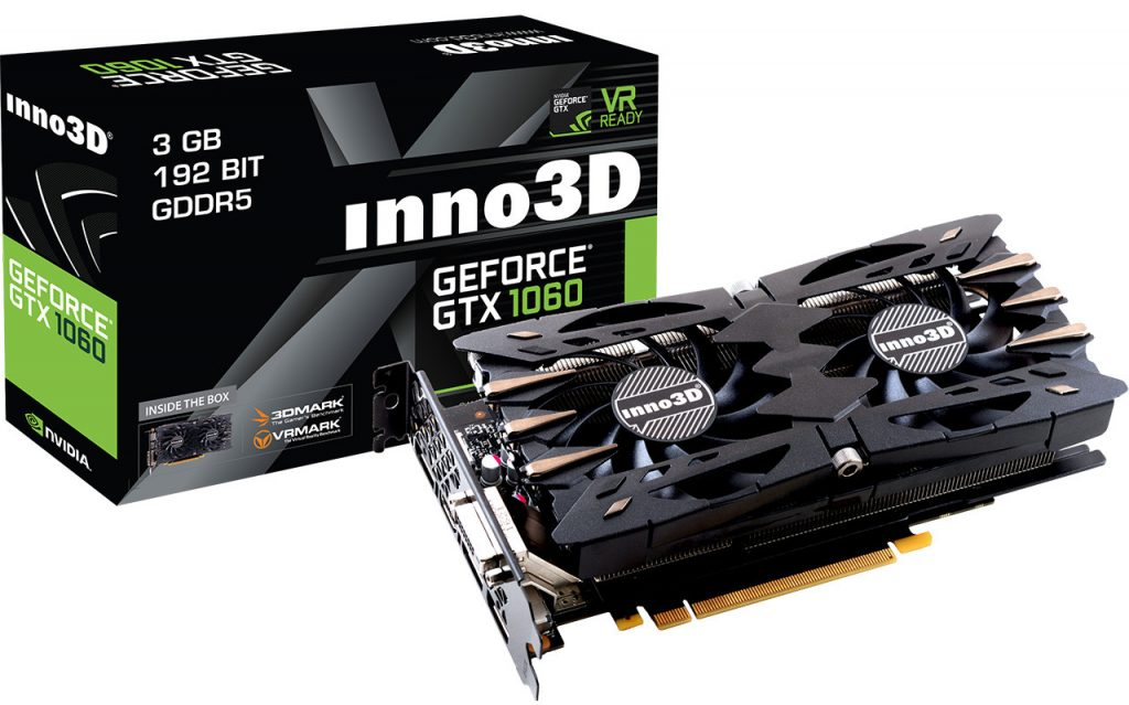 Inno3D GeForce GTX 1060 3GB 3