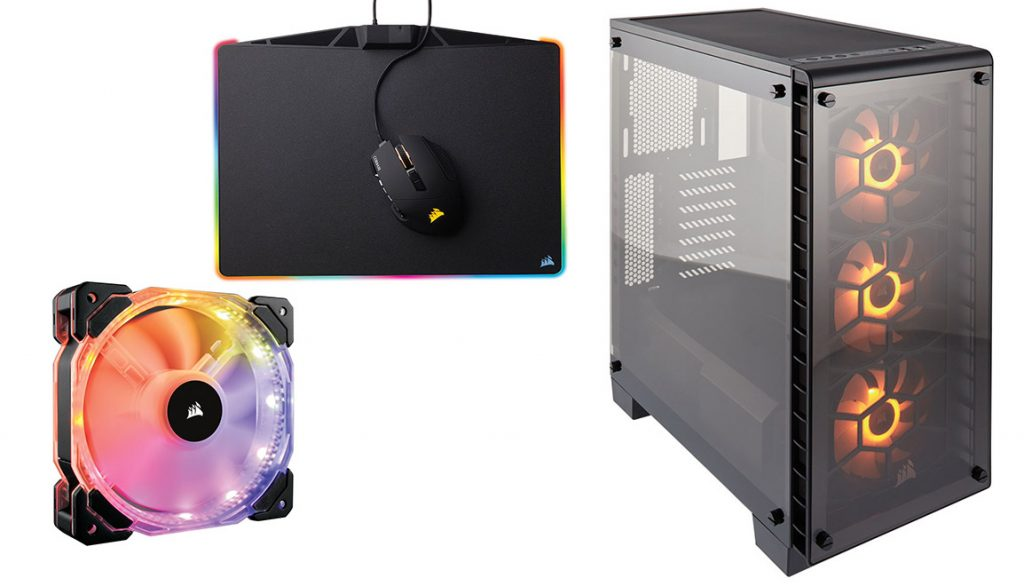Corsair RGB products