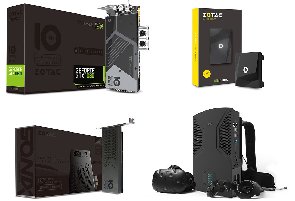 Zotac Celebrates 10 Years With Five New Products