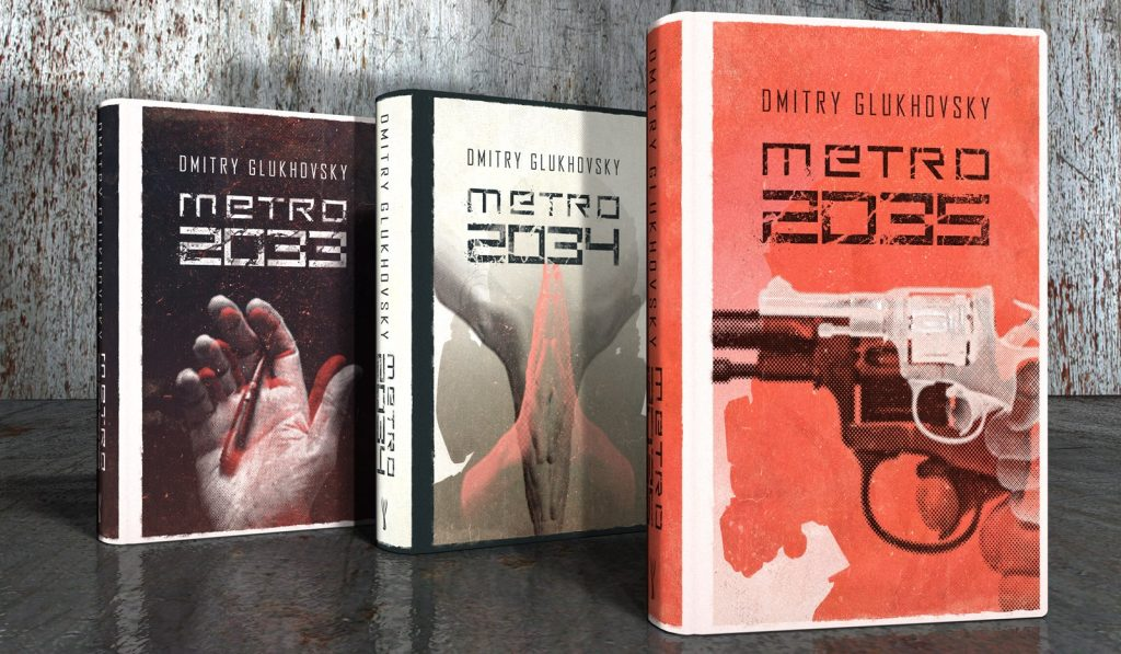 The Metro 2033 game series is based on the popular Polish novels.