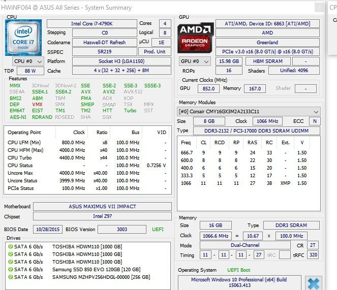 AMD Radeon Pro Vega Frontier Edition Benchmarked Posted by a User