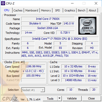 Intel's unreleased Core i9-7900X Skylake-X Review spotted