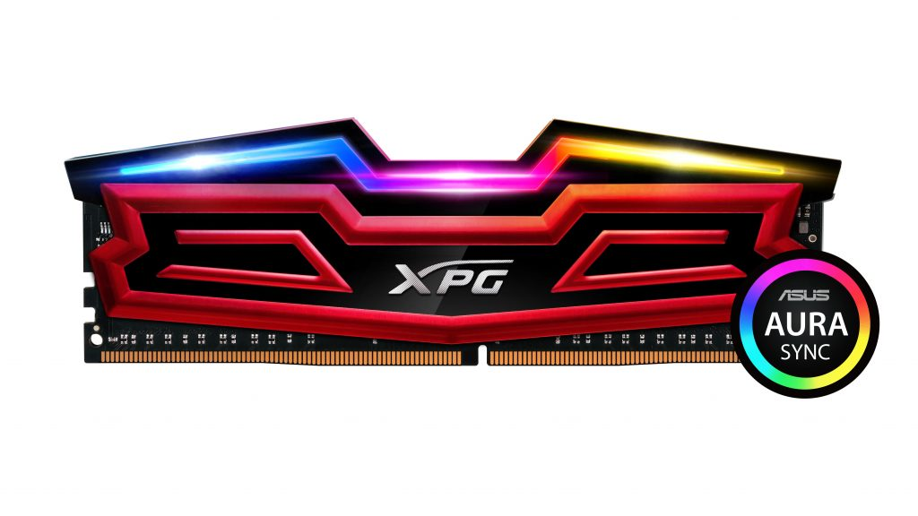 ADATA Confirms XPG SPECTRIX D40 RGB DDR4 With ASUS AURA Sync Support