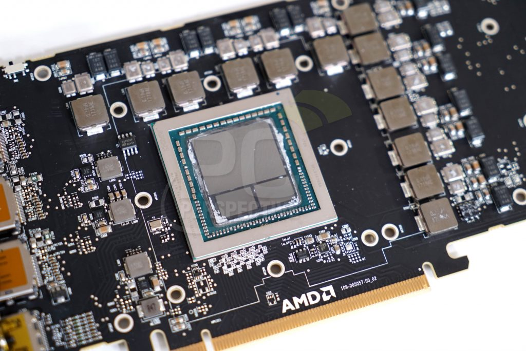 AMD Radeon Vega Frontier Edition PCB-exposed