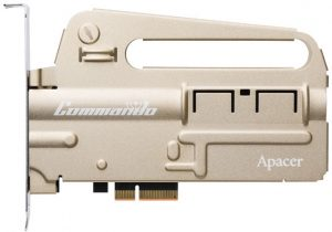 Apacer introduced the PT920 Commando PCIe NVMe SSD