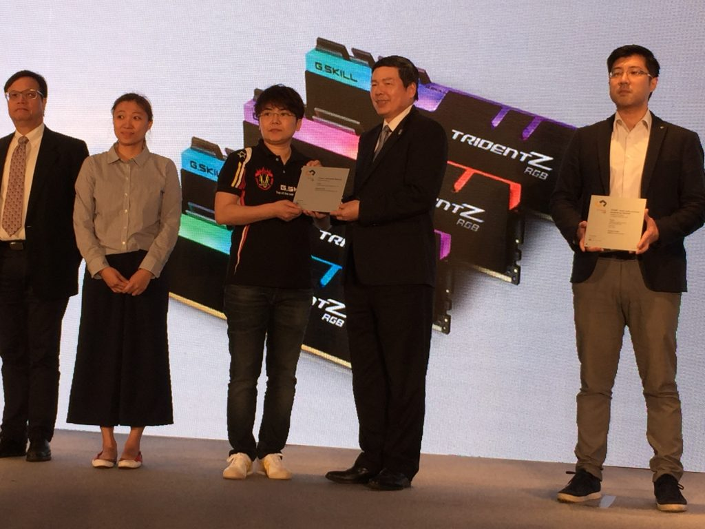 G.SKILL Trident Z RGB Receives Two Product Design Recognition Awards