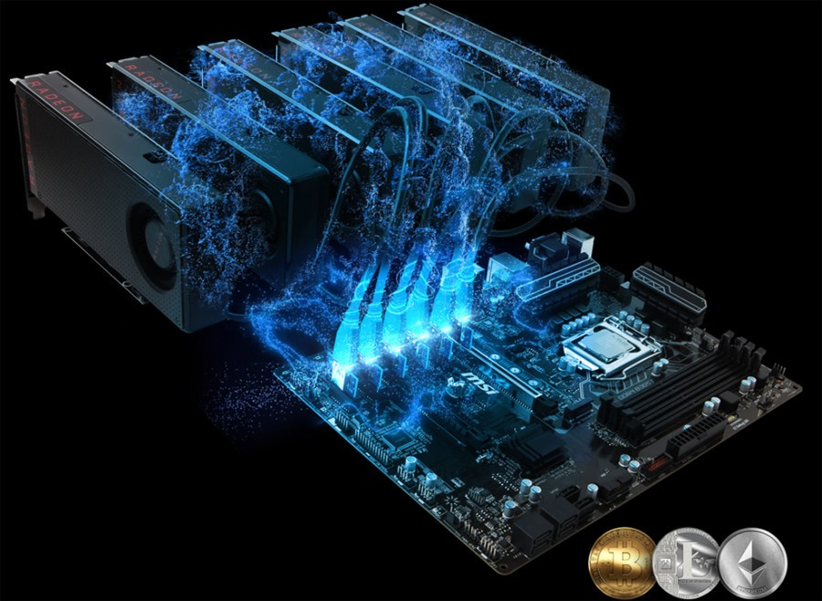 MSI Releases Special Motherboard BIOSes for Crypto-currency Mining