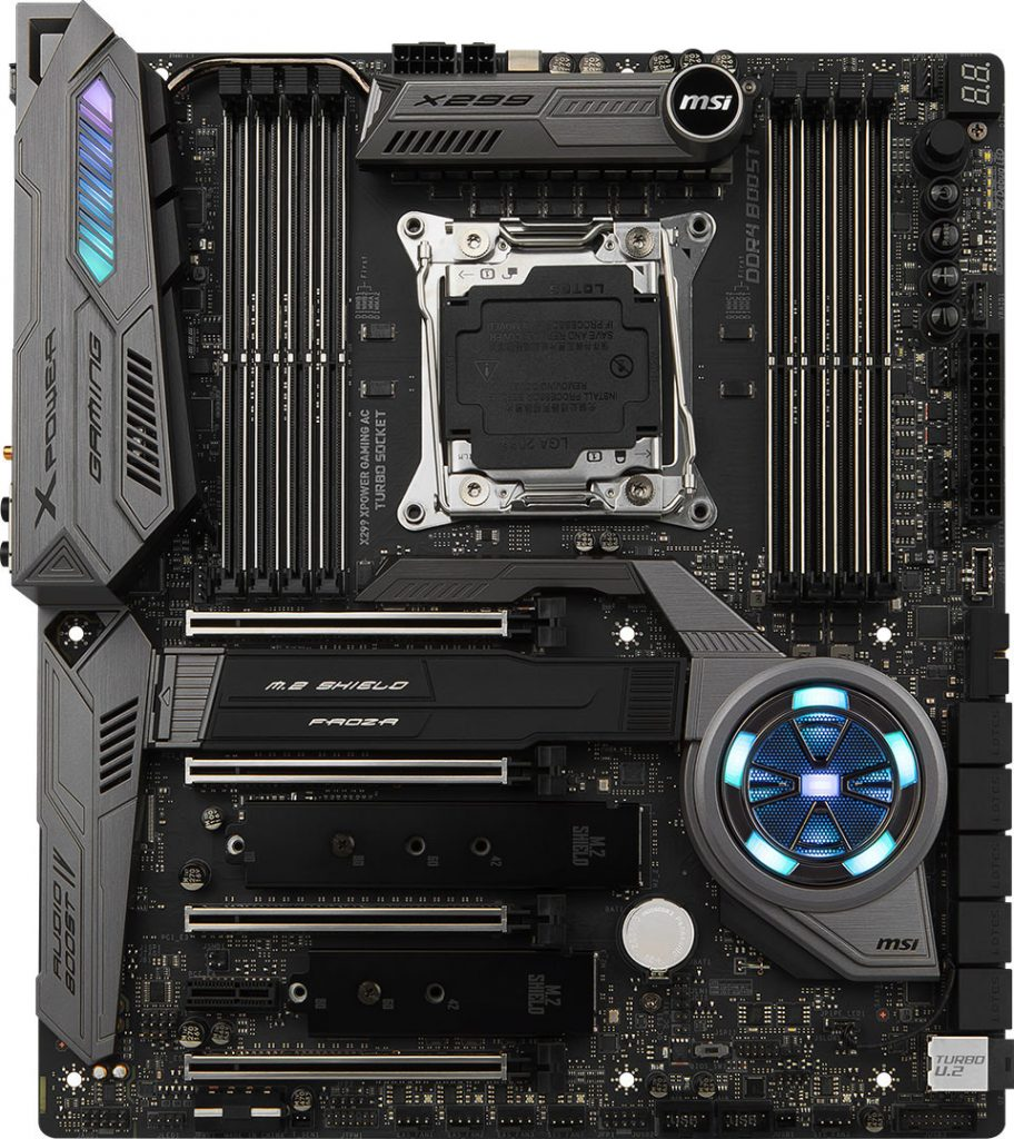 MSI Announces X299 XPOWER Gaming AC Flagship Motherboard
