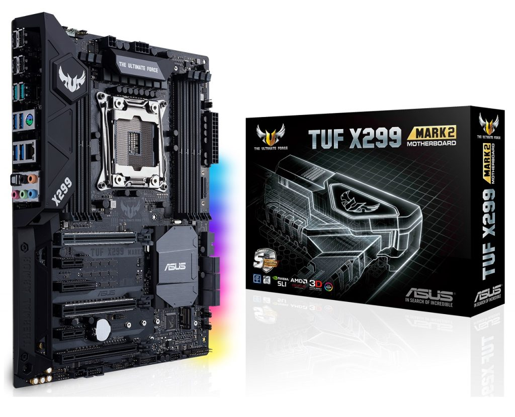 ASUS launched the TUF X299 Mark 2 Motherboard