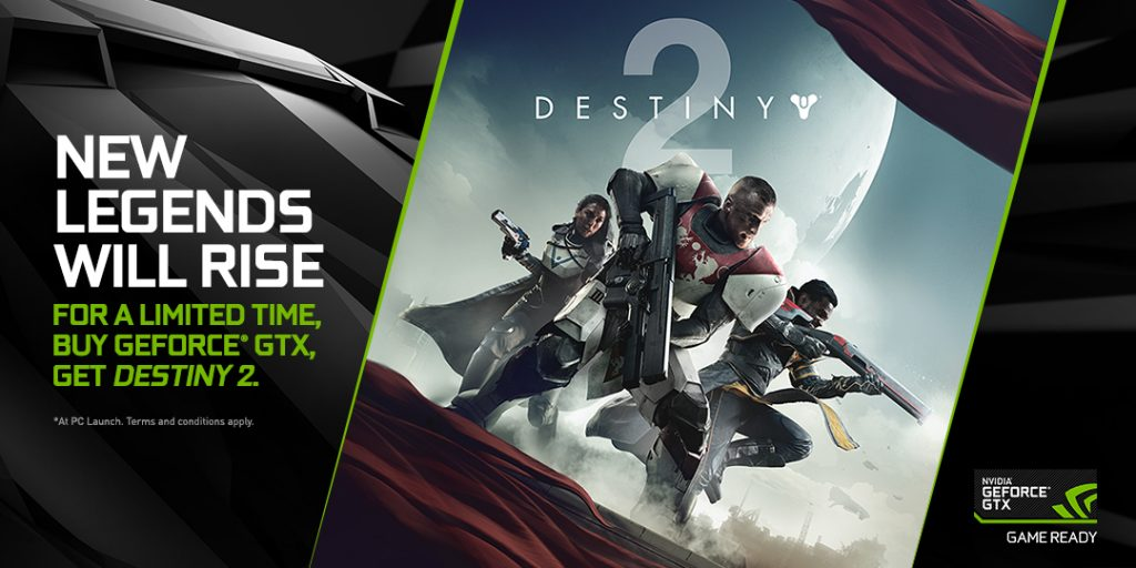 NVIDIA Announced New Game Bundle Offering DESTINY 2 And Early Beta Access