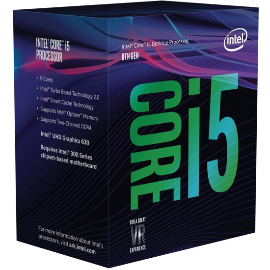 Intel 8th Gen Core i5 and Core i7 Retail Boxes Spotted