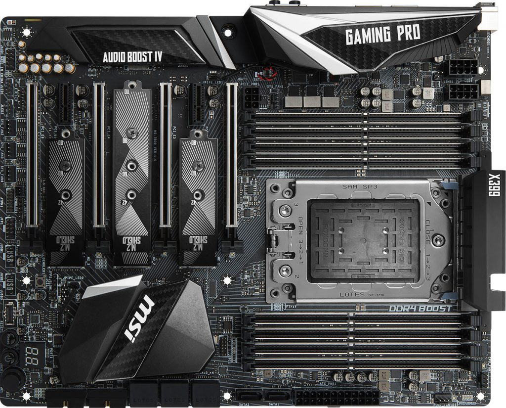 MSI Announces X399 Gaming Pro Carbon, X370 Gaming M7 ACK and B350 Tomahawk Plus