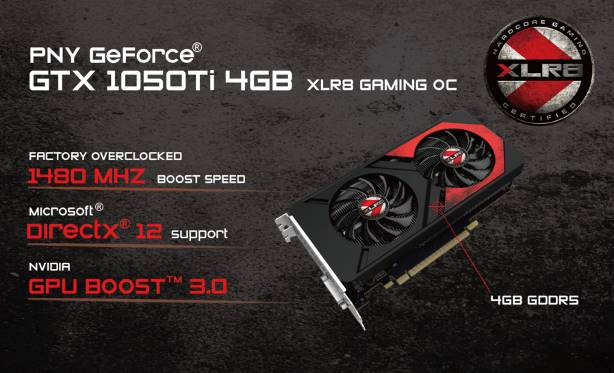 PNY Announced its GeForce GTX 1060 6GB XLR8 Gaming OC Edition