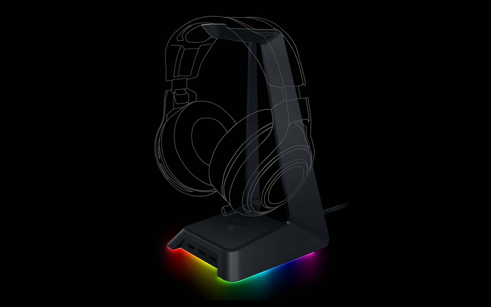 Razer Announced The Base Station Chroma Headphones Stand