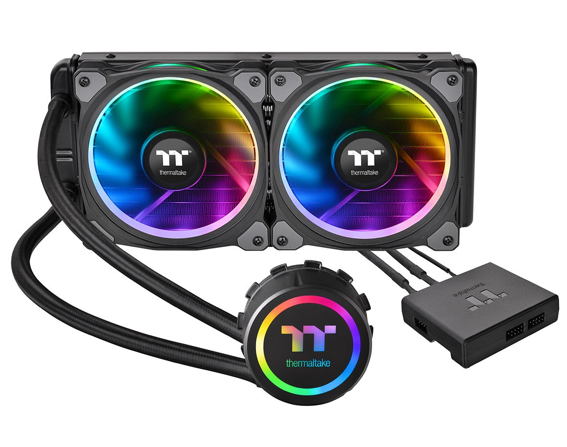 Thermaltake Announces Floe Riing RGB TT Premium Edition Coolers