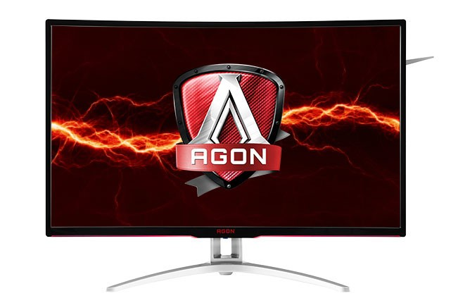 AOC Announces Availability of AGON AG322QCX Curved QHD Gaming Monitor