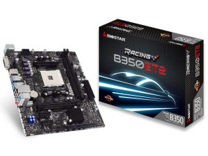 BIOSTAR Announces Racing B350 Motherboards and Radeon RX Vega 56 Graphics Card
