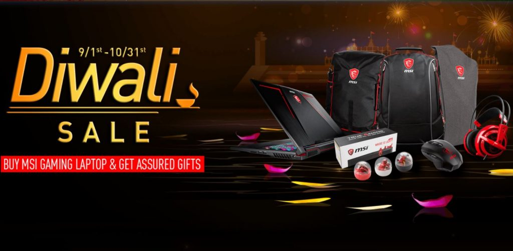 Feel the Thrill of Heavy Duty Gaming this Festive Season with MSI's Diwali Sale