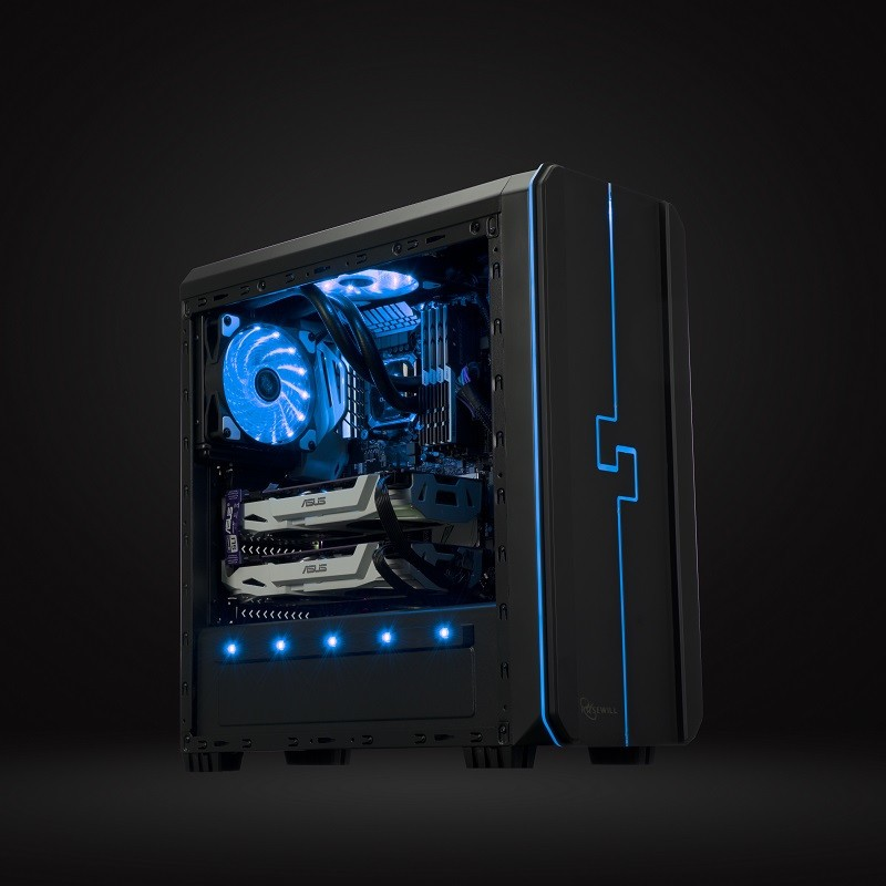 Rosewill Releases The ORBIT-Z1 RGB Gaming Case to Summer Lineup