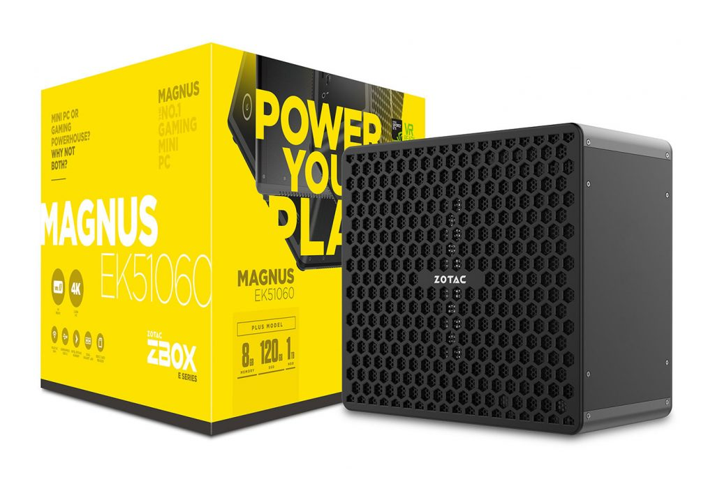 ZOTAC Announces ZBOX MAGNUS EK and ER Series Compact Gaming Desktops