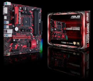 ASUS Intros Expedition A320M Gaming Motherboard