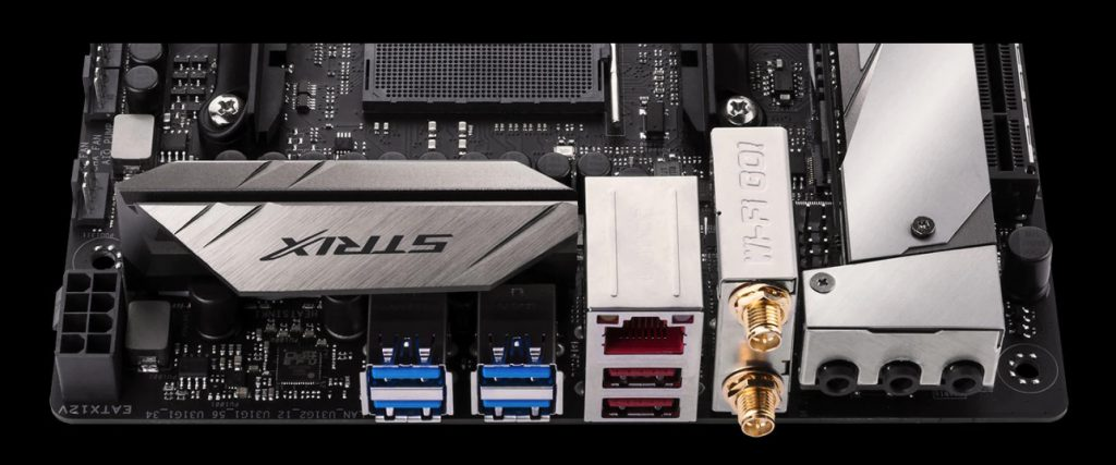 ASUS Intros ROG STRIX X370-I And B350-I Mini-ITX Motherboards For AMD Ryzen
