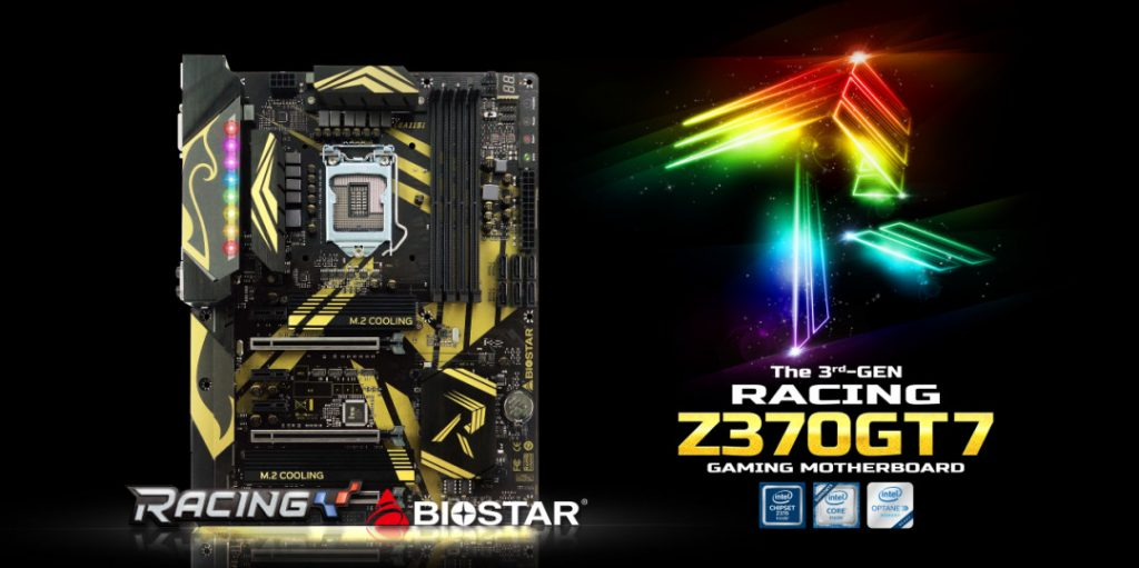 BIOSTAR Launches Flagship RACING Z370GT7 Motherboard