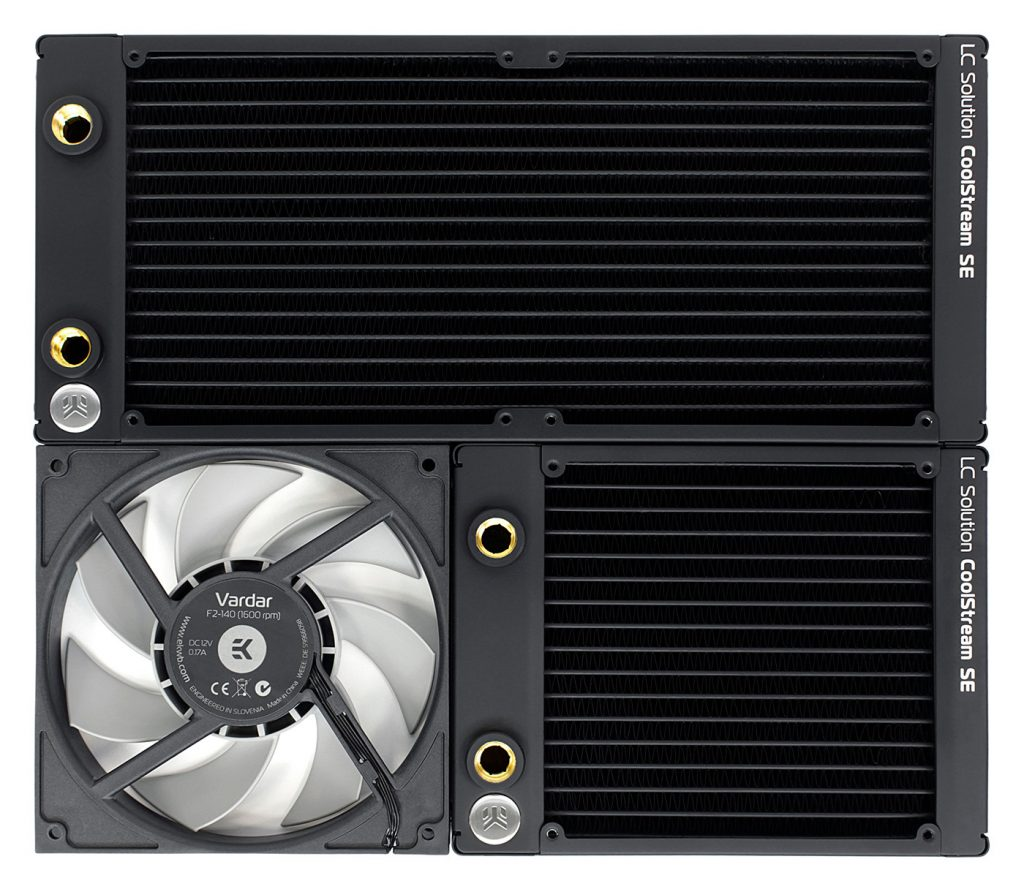 EK Releases CoolStream Slim 140mm and 280mm Radiators