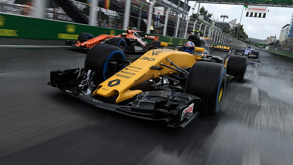F1 2017 Makes Official Comeback to Linux on November 2