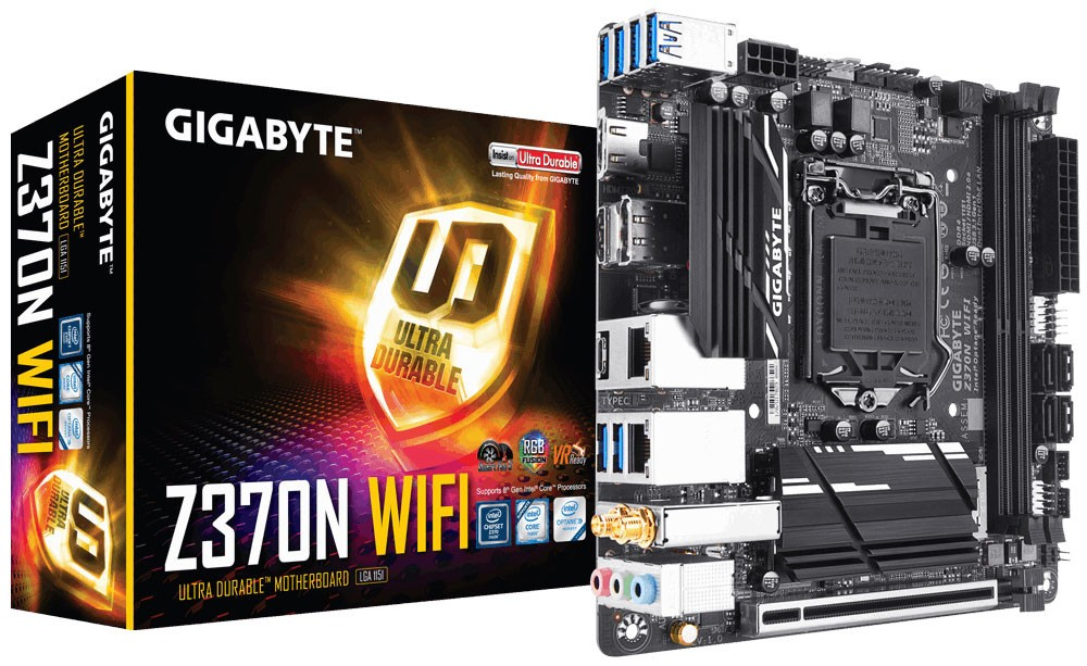 GIGABYTE Intros Z370N WIFI Mini-ITX Motherboard