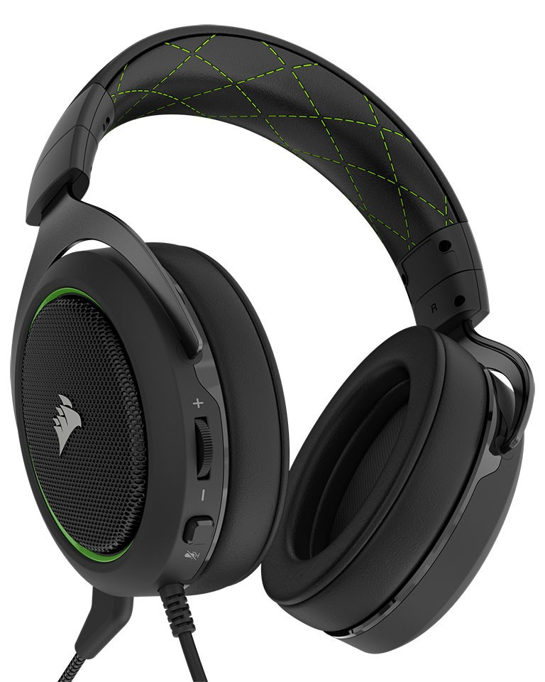 CORSAIR Launches HS50 Stereo Gaming Headset