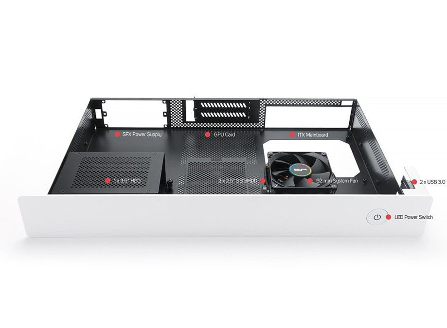 CRYORIG Enters Case Market With the Taku Monitor Stand ITX Case
