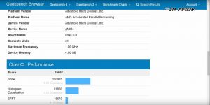 Intel and Radeon Technologies Group collaboration CPU Specs and Benchmarks Leaked