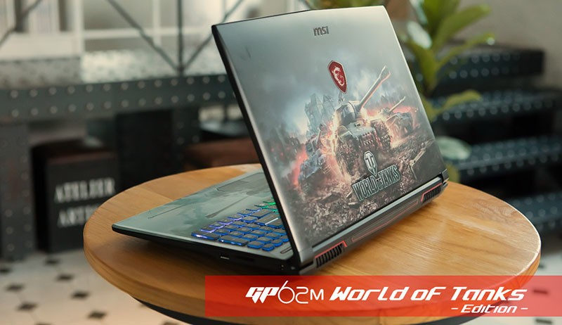 MSI launches the GP62M World of Tanks Edition Gaming Laptop
