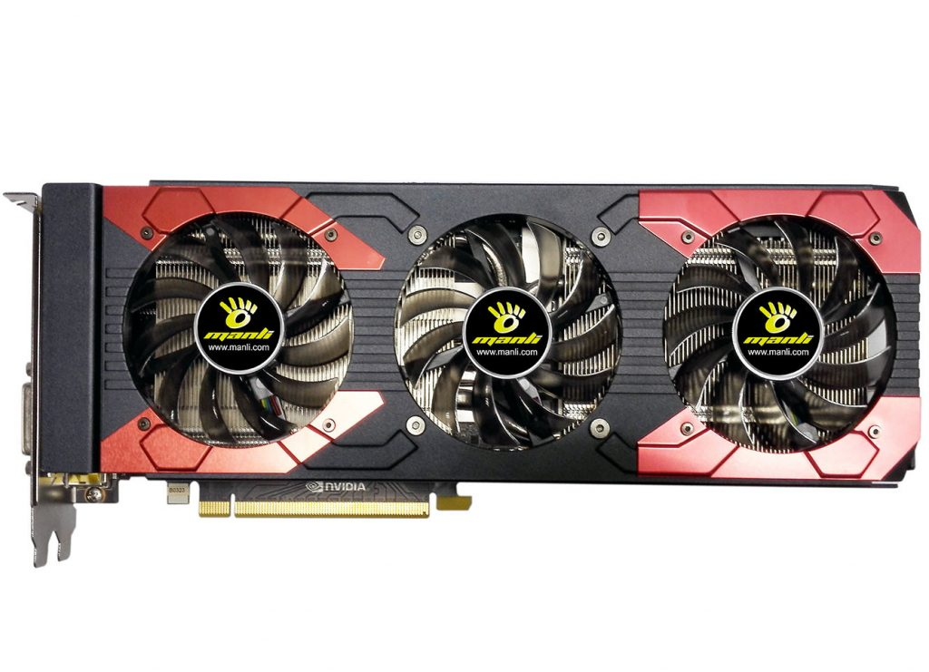 Manli Announces its GeForce GTX 1070 Ti Series