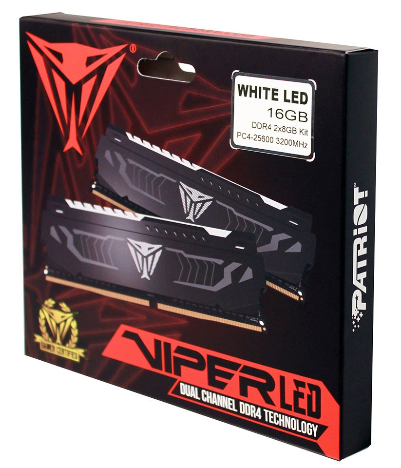 Patriot Launches New VIPER LED Series DDR4 Performance Memory