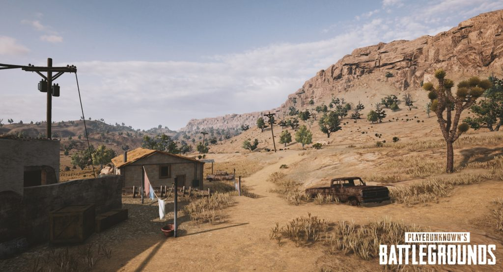 NVIDIA has Five Never-Before Seen Screenshots of the Upcoming PUBG Desert Map! 5000 GeForce Experience Members will get PUBG for Free