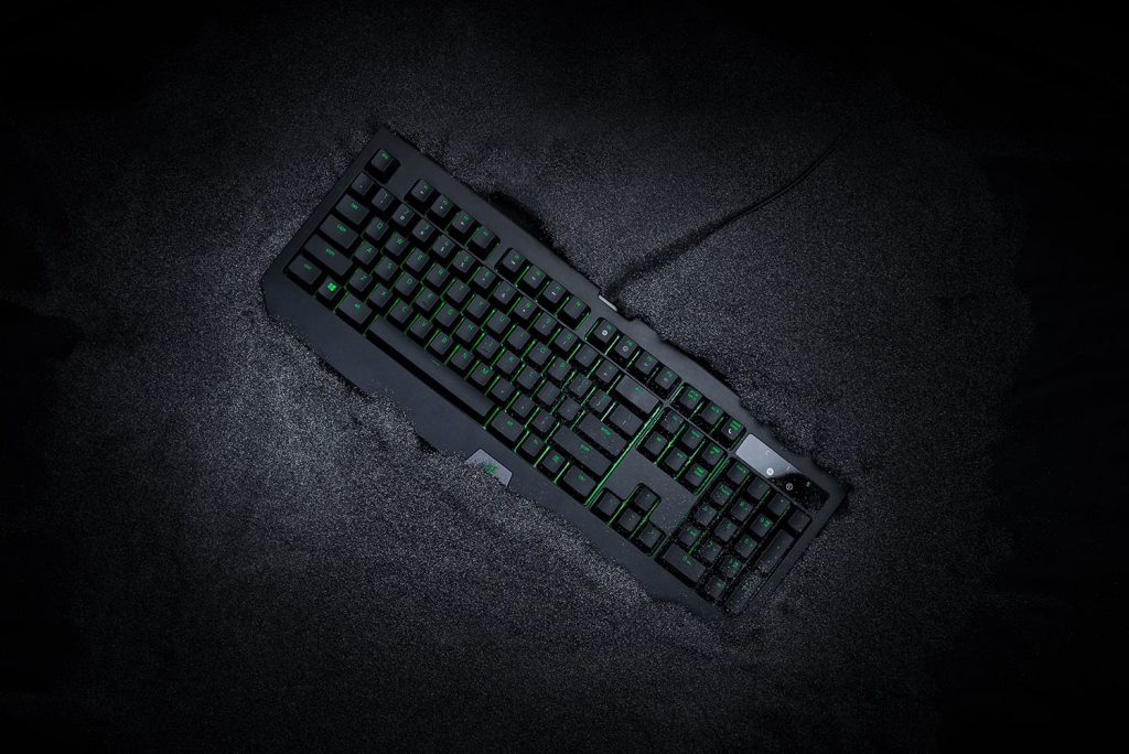 Razer Upgrades the BlackWidow Ultimate with Water and Dust Resistant