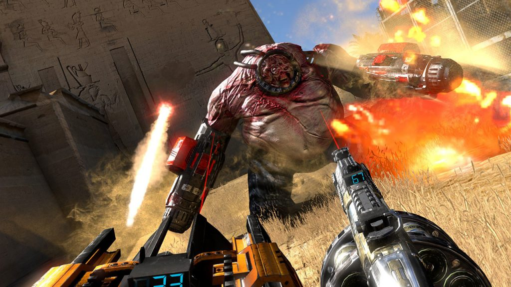 Serious Sam 3 VR: BFE Launches on Steam with 10% Discount