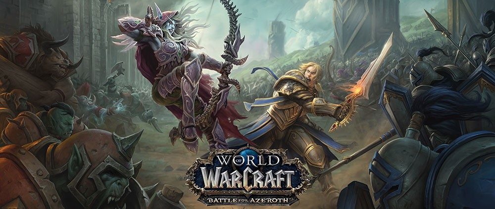 Blizzard Announces Upcoming 'Battle for Azeroth' Expansion for World of Warcraft