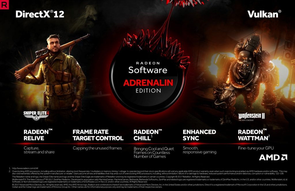 AMD Announces the Radeon Software Adrenalin Edition