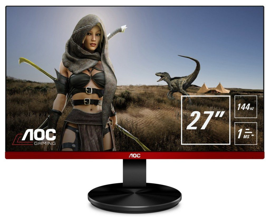 AOC Expands Their Mainstream Gaming Monitor Line-Up with New Frameless Models
