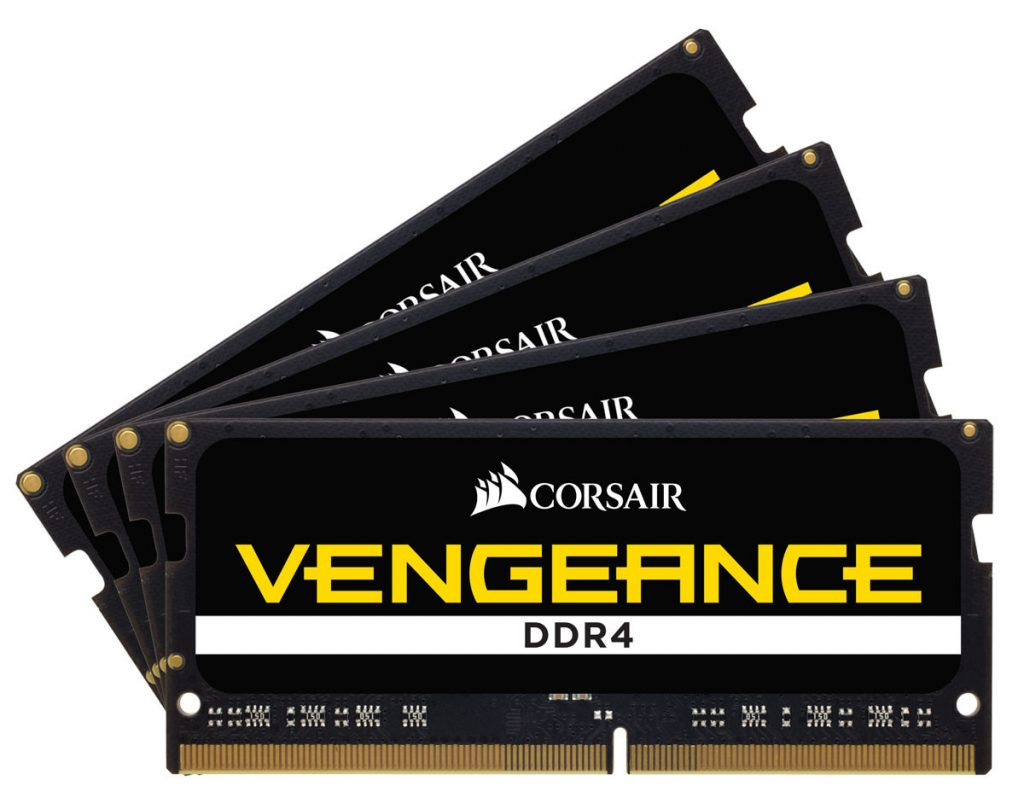Corsair Launches the World's Fastest DDR4 SODIMM 32GB Memory Kit