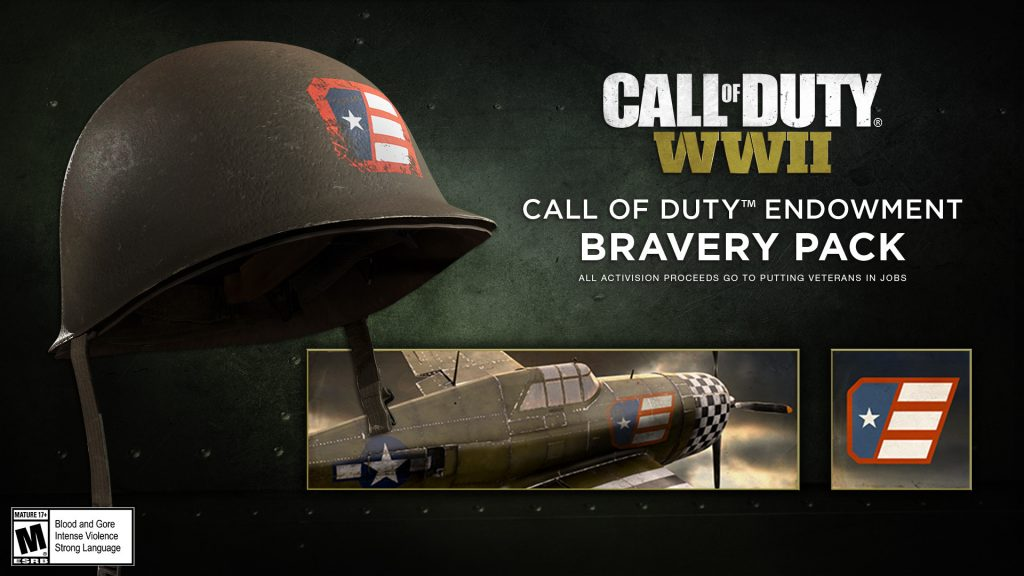 Activision Blizzard Announces Sale of Special Call of Duty: WWII Bravery Pack