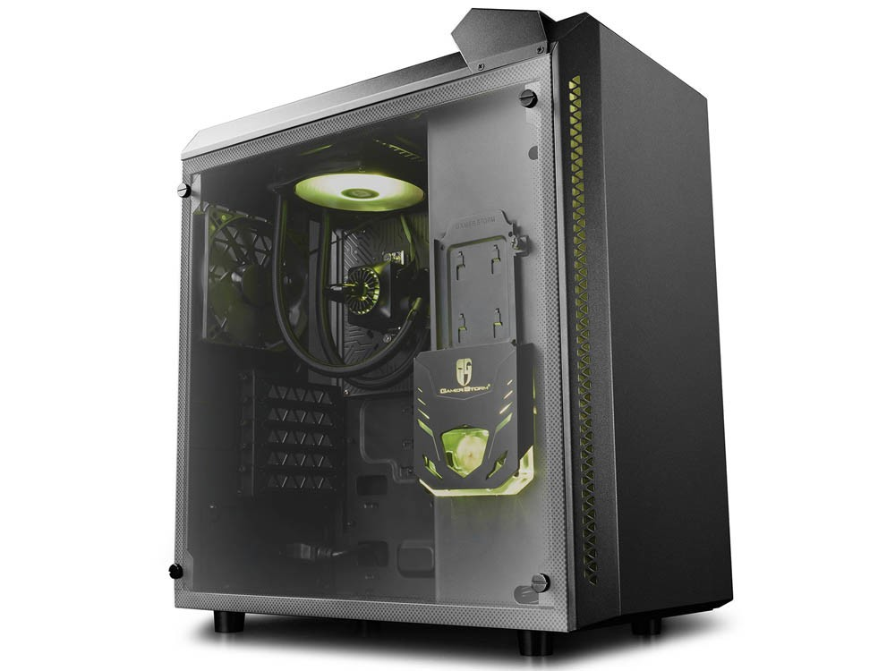 DeepCool Launches Baronkase Liquid Case with Pre-installed AIO Liquid CPU Cooler
